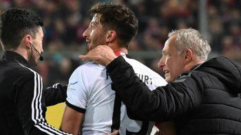 futbolista argentino golpeo a un dt rival y desato una batahola en alemania