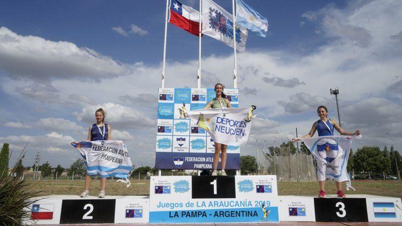 Neuquén sumó doce medallas en la segunda jornada