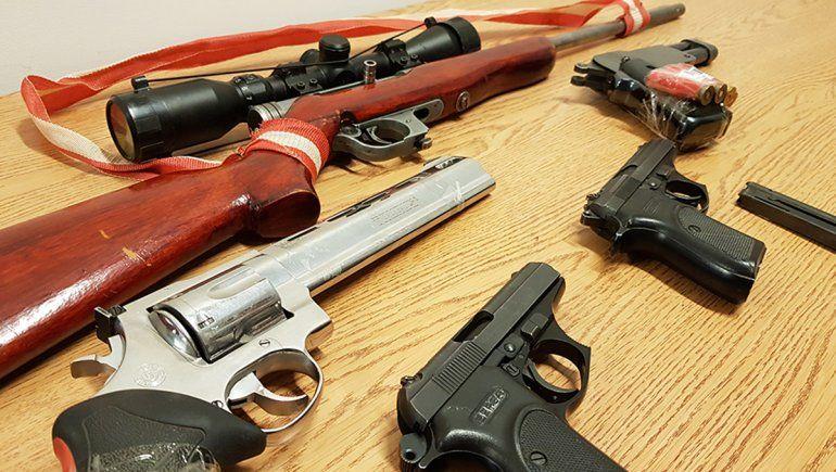 Enviaron a la ANMAC casi 400 armas de fuego secuestradas para ser destruidas