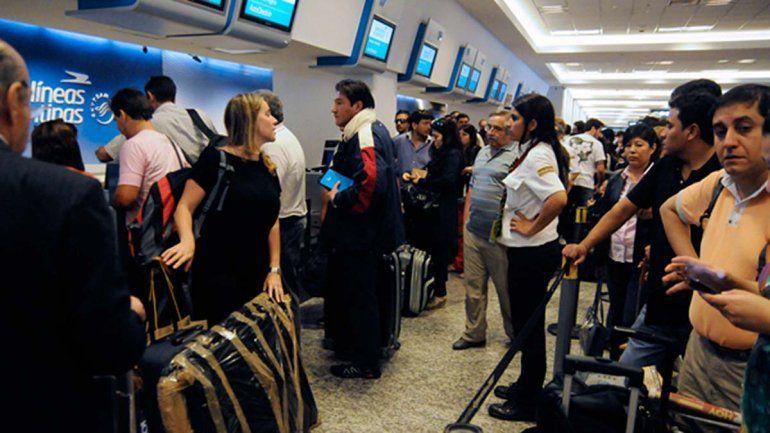 Demoras y cancelaciones: 3.500 pasajeros afectados