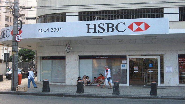 Advierten que el banco HSBC planea cerrar varias sucursales del país