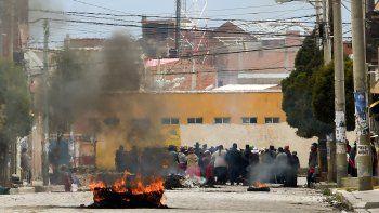 la central obrera de bolivia amenaza con un paro por tiempo indeterminado