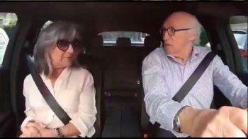 el desopilante video de carlos bianchi y su mujer margarita