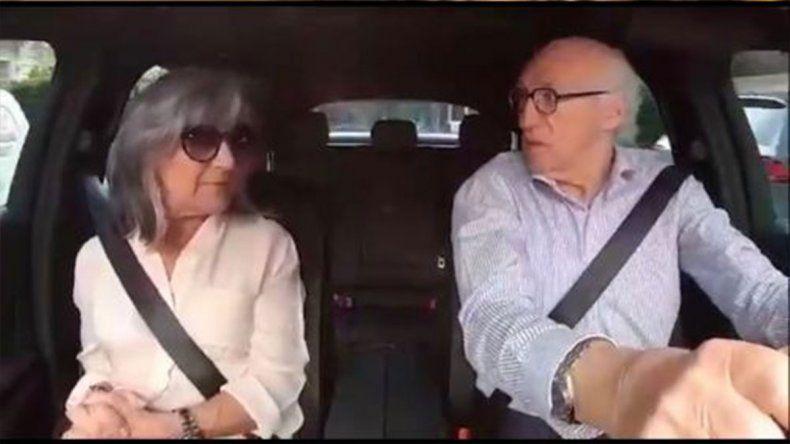El desopilante video de Carlos Bianchi y su mujer Margarita que está en boca de todos