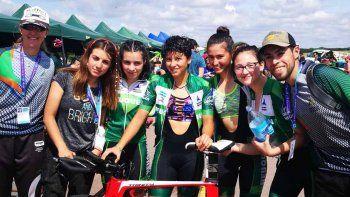 el ciclismo femenino obtuvo su primera medalla de oro