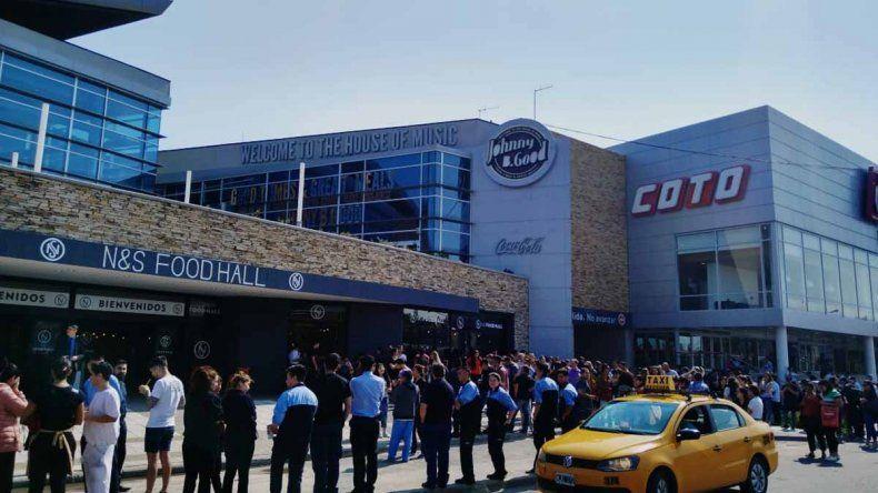 ¿Qué pasó en el centro comercial del Alto neuquino?