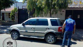 secuestraron una camioneta porque tenia el 08 adulterado