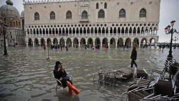 venecia esta bajo el agua y hablan de una devastacion apocaliptica