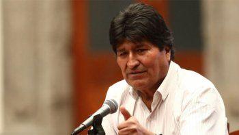 morales ofrecio regresar a bolivia para aportar con mi presencia a la solucion pacifica