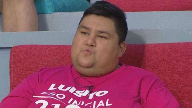 Luisito, ex Cuestión de peso, pidió ayuda para no morirse