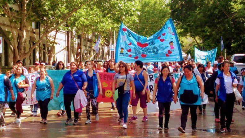 Organizaciones sociales coparon las calles con distintos reclamos