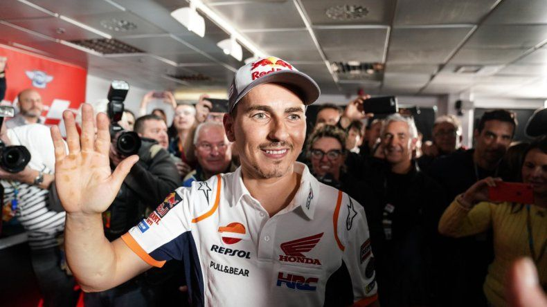 Jorge Lorenzo anunció su retiro del Moto GP