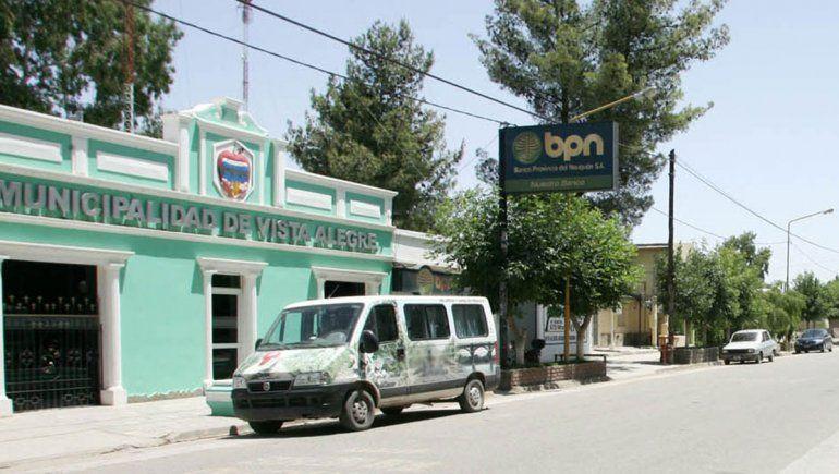 Destrozos y golpes en la Municipalidad de Vista Alegre
