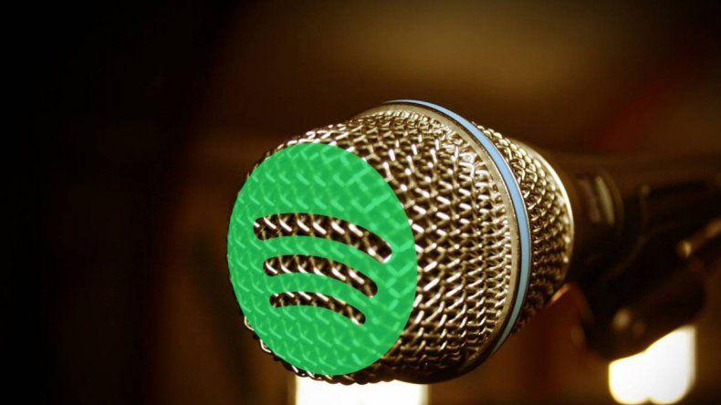 Spotify probó la función de karaoke en su aplicación