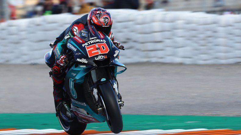 Fabio Quartataro consumó una nueva pole en el Moto GP