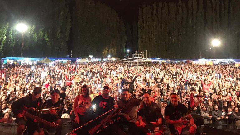 Noche récord: Damas Gratis hizo vibrar a la Fiesta del Chivito