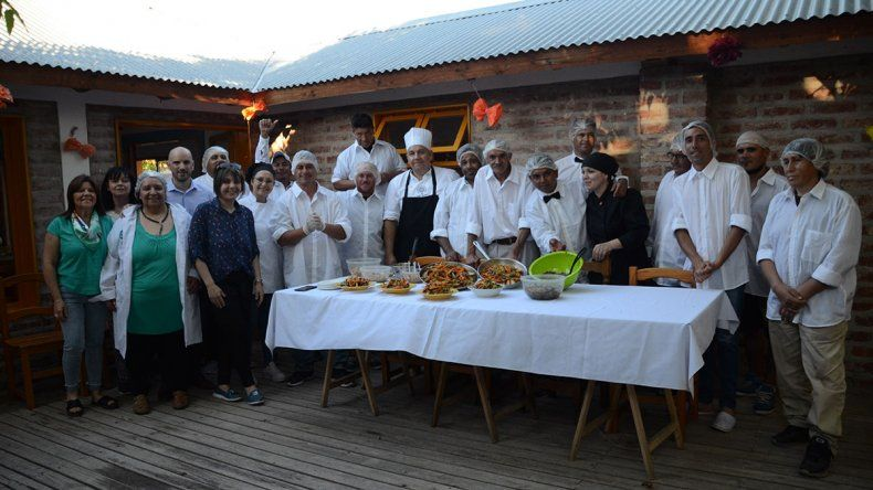 Personas en situación de calle tomaron un curso de gastronomía