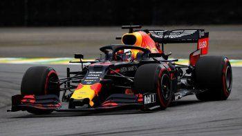 la pole position de la formula 1 en brasil es de max verstappen