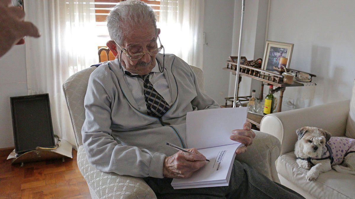 Pastor Gutiérrez: un testigo viviente de todo el siglo XX - Lmneuquen.com