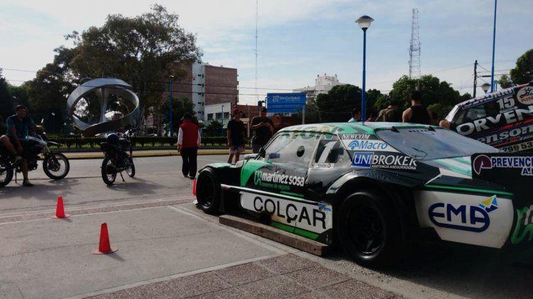 De La Visera al Monumento, el TC hará ruido con los show car de Canapino y Rossi