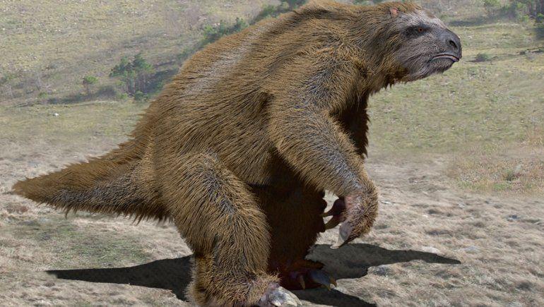 Cómo eran los perezosos que vivieron en Neuquén hace 10 mil años