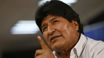 evo morales abandono mexico y podria venir a argentina