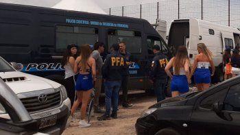 cae banda de prostitucion vip durante la carrera del tn