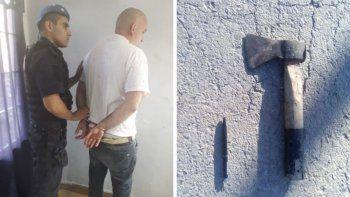 hombre ataco a su ex con un hacha y le corto una oreja