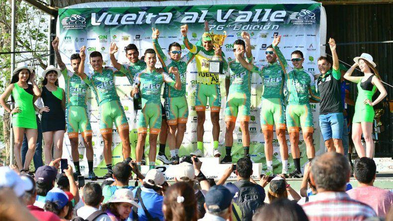 Dotti y el SEP se coronaron en la Vuelta al Valle