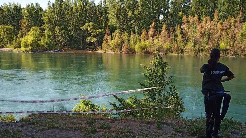 Reanudan la búsqueda del hombre que desapareció en el río en Plottier