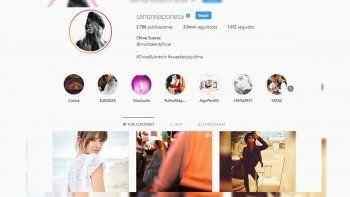 el instagram de la china suarez delataria la separacion de vicuna
