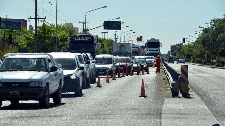 Por tareas de repavimientación está cortada la Ruta 22 y Olascoaga: las obras seguirán en los próximos días