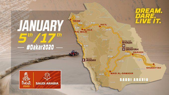 El Rally Dakar presentó los caminos de su edición número 42