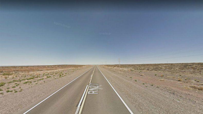 Ruta 237: un hombre murió tras un choque frontal en cercanías a Picún Leufú