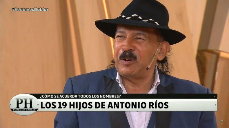 El drama de Antonio Ríos con sus 19 hijos se convirtió en tendencia en Twitter