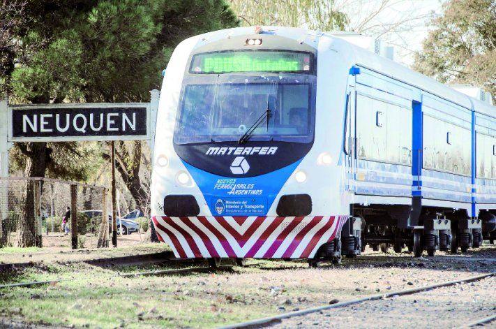 El proyecto de Nación es extender el tren desde Roca hasta Senillosa.