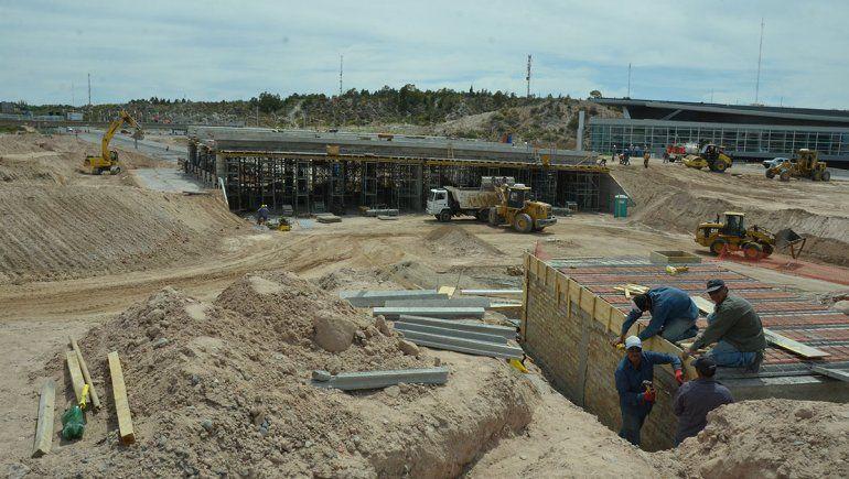 Al final, la obra del nodo vial será inaugurada durante la gestión Gaido