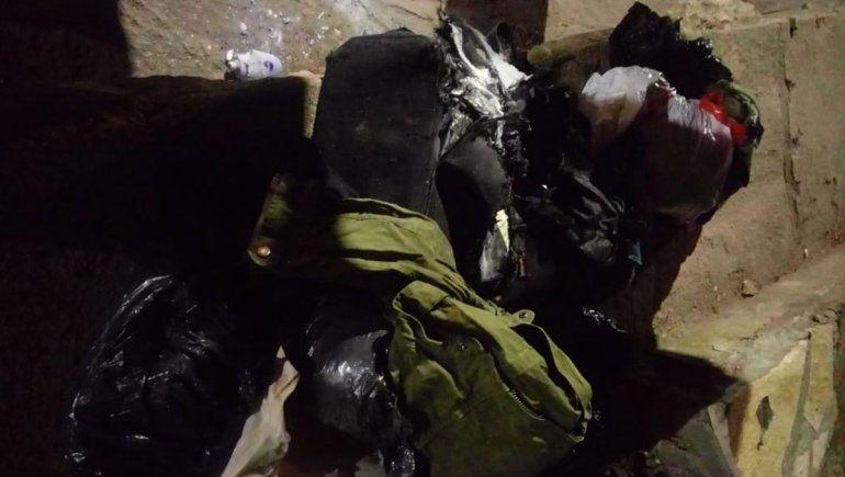 Detonaron una mochila pensando que tenía explosivos, pero era de un hombre de la calle