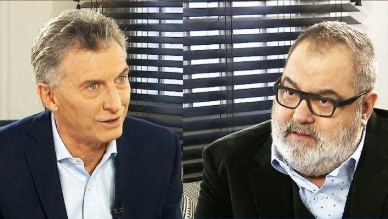 Mauricio Macri visitó a Jorge Lanata
