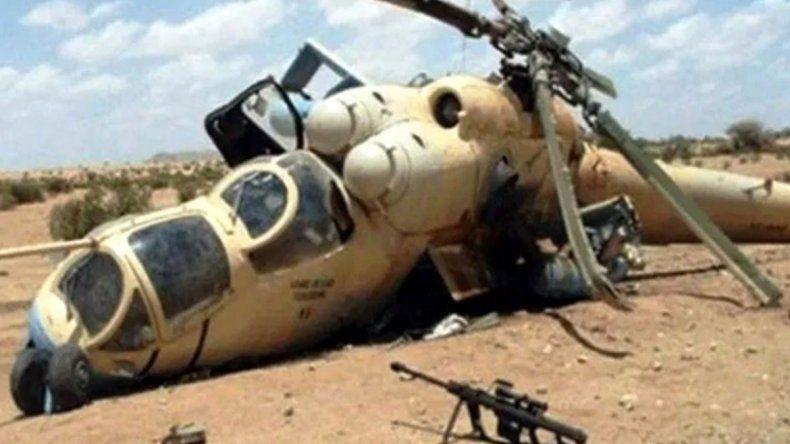 Chocan dos helicópteros y mueren 13 efectivos franceses
