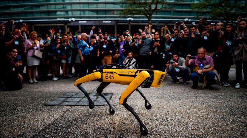 El perro robot que utiliza la Policía de Estados Unidos