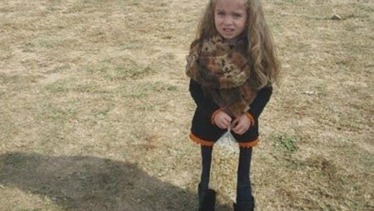 Ilusión óptica: cómo son las piernas de esta niña