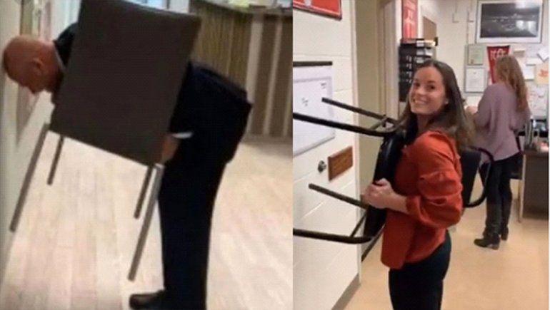El reto de la silla, el nuevo reto viral que sólo lo pueden realizar las mujeres