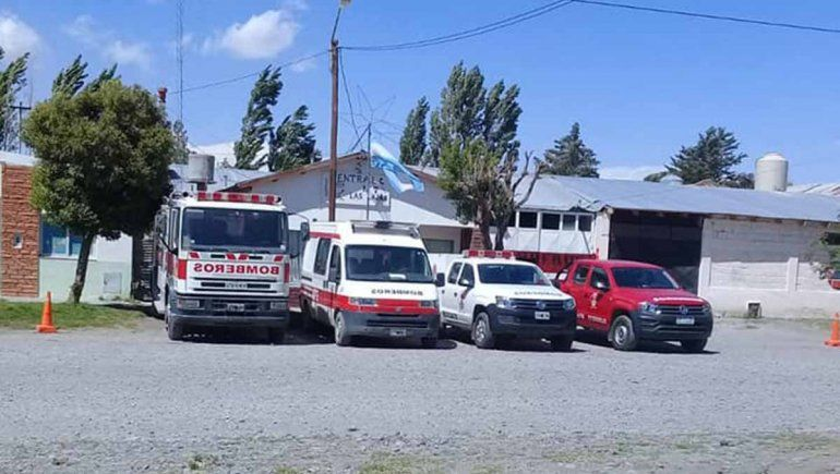 Convocaron a bomberos retirados para rearmar el cuartel de Las Lajas