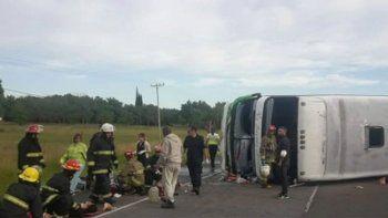 accidente fatal en ruta 2: ¿el chofer se habria dormido?