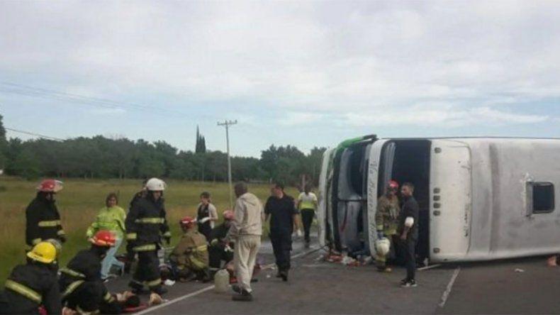 Accidente fatal en Ruta 2: Se me fue el micro, dijo el chofer