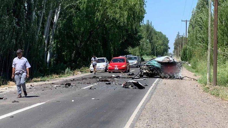 Ruta Chica: un muerto y casi 20 heridos en un choque