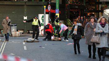terrorismo en londres: mato a dos personas con un cuchillo