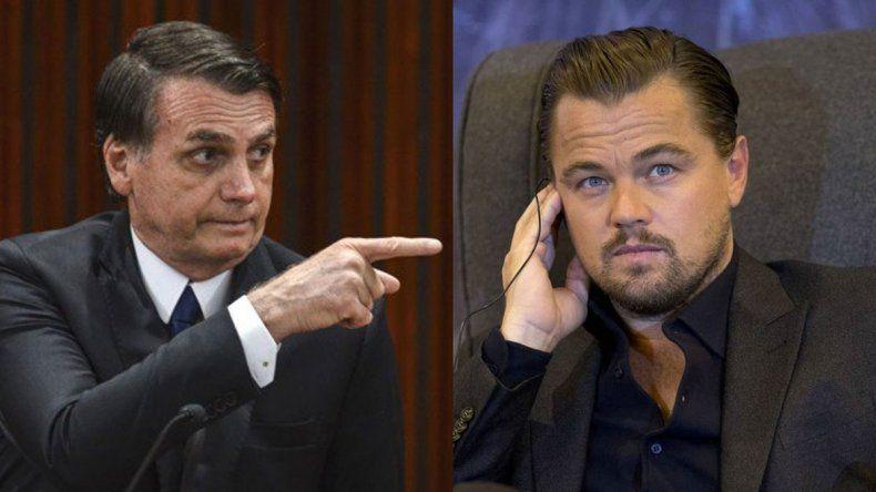 El duelo menos pensado: Bolsonaro versus DiCaprio