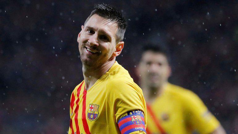 Messi, siempre Messi: a los 85, frotó la lámpara y le dio un triunfo clave al Barsa ante Atlético